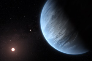 water on exoplanet