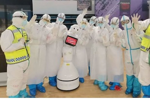hospital with only robots